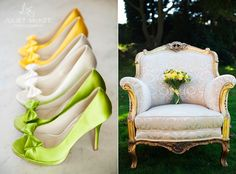 Yellow & green wedding.  http://julietmckeephotography.co.uk/index.php/good-day-sunshine-part-i/