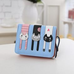 Brave Coin Purse New 3d Girl Wallet Bag Ladies Face Zipper Mini Cat Animal Coin Purse Childrens Purse Plush Coins Pouch Kawaii Bag High Standard In Quality And Hygiene Coin Purses Coin Purses & Holders