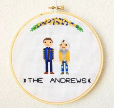 Image of 2 Character Custom FamilyStitch