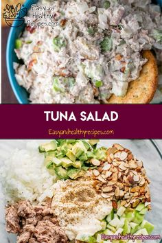 If tuna makes you immediately think of a soggy sandwich, we're here to change that association. Tuna is incredibly versatile fish so you can turn them into your favorite dishes. From steaks to salads, soups, BBQ and more. tuna dishes are so delicio Tuna Recipes, Seafood Recipes, Salad Recipes, Dinner Recipes, Tuna Dishes, Fish Dishes, Seafood Dishes, Delicious Tuna Recipe, Healthy Snacks