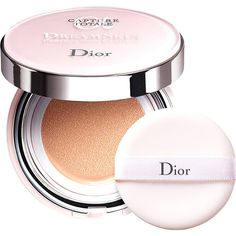 Dior Capture Totale Dreamskin cushion (875.120 IDR) ❤ liked on Polyvore featuring beauty products, makeup, face makeup, beauty, cosmetics, spf makeup, christian dior makeup, christian dior and christian dior cosmetics