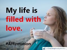 Let your life be filled with love.. Always :) #LifeCoaching #LifeCoach #Affirmations #AbeStone #Positive #BeingHappy