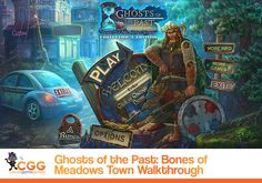 Our Ghosts of the Past: Bones of Meadows Town Walkthrough features tips and hints to help you solve the mystery of the tragic murders in Meadows Town.