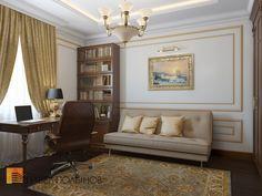 Дизайн кабинета в классическом стиле