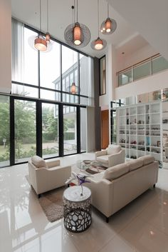 Gallery Of Tiwanon House / Archimontage Design Fields Sophisticated   5. Living  Room ... Part 92