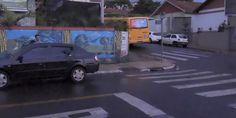 Colisão no cruzamento das ruas Pe. Mello com Paraná - http://projac.com.br/noticias/colisao-cruzamento-ruas-pe-mello-parana.html