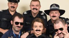 #Monash Police officers are growing moustaches to raise cash for Movember - Herald Sun: Herald Sun Monash Police officers are growing…