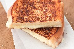 Cheese and bread are always a winner in my book, but this sounds like a truly epic grilled cheese