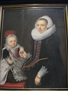Jan Anthonisz. van Ravesteyn, Portrait of a Lady and Her Child
