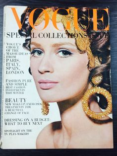 CELIA HAMMOND - VOGUE UK - 1 SEP 1967*