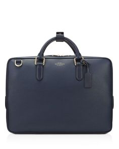 Smythson Slim Briefcase