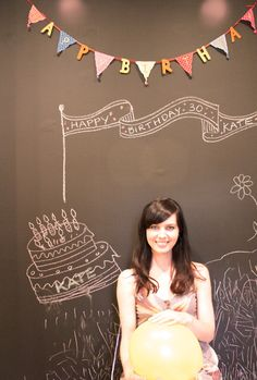 #chalkboard #photobooth #backdrop #wedding #birthday