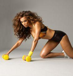 Tyra Banks - fierce! Love the big hair! Tyra will always be beautiful in my book. Love ANTM too.
