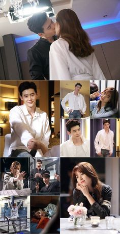 "[Photos] ""W"" Lee Jong-suk and Han Hyo-joo's behind-the-scenes cuts @ HanCinema :: The Korean Movie and Drama Database"