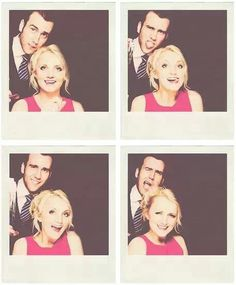 Matthew Lewis and Evanna Lynch