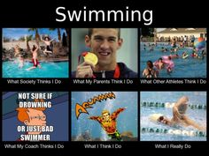 As a coach now, I often wonder what new stroke creations my swimmers are inventing during sets lol