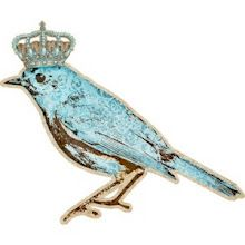 crowned blue bird