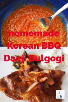 Die scharfe Variante des traditionellen Korean Barbecue ist besonders bei Erwachsenen beliebt. Mit Hals oder Bauch zubereitet ist es geschmacklich intensiver, Rücken eignet sich aber genauso. Krups Prep Cook, Prep & Cook, Bulgogi, Korean Bbq, Beef, Homemade, Recipes, Food, Marinate Meat
