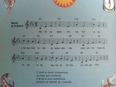 moře Sheet Music, Music Sheets