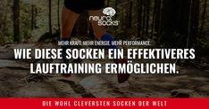 Klar: Das Sie den nächsten Marathon gewinnen können wir Ihnen natürlich nicht garantieren. Dafür aber, dass Studien bestätigen, dass mit der Wirkung unserer Neuro Socks Läufer mehr Stabilität, Gleichgewicht, Kraft, Energie und Ausdauer haben. Sport, Marathon, Run Happy, Weights, Health, Deporte, Sports, Marathons