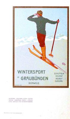 Deutsche kunst und dekoration 1907. #vintage #travel #poster
