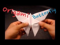How to Make an Origami Butterfly - YouTube