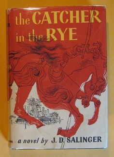 The Catcher in the Rye by J.D. Salinger by Pistilbooks on Etsy
