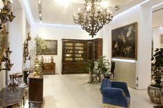 Galleria Antiquariato Giglio - Milano - Foto 5 Sito Web: www.antichitagiglio.it Milano, Oversized Mirror, Luxury, Furniture, Design, Home Decor, Trendy Tree, Decoration Home, Room Decor