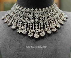 Jewellery Designs - Page 8 of 1542 - Latest Indian Jewellery Designs 2019 ~ 22 Carat Gold Jewellery one gram gold Silver Bridal Jewellery, Indian Jewelry Earrings, Gold Jewelry, Diamond Jewelry, Silver Ring, Jewelery, Diamond Bracelets, Diamond Rings, 925 Silver