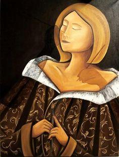 Une ombre au tableau Numero 3 60cm x 80cm Oil paint