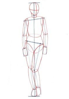 Wiki How.  Drawing the female body.