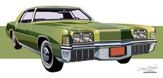 1971 Oldsmobile Toronado by CRWPitman
