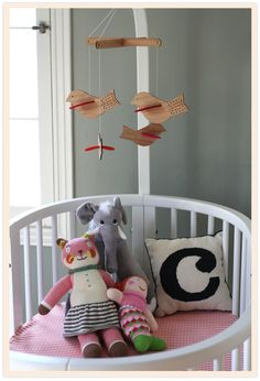 HUGE Stokke Giveaway via Babble and cupcakeMAG Littles - Win a Sleepi Crib, Changing Table and the Tripp Trapp all from Stokke! Baby Decor, Kids Decor, Nursery Decor, Nursery Mobiles, Room Decor, Nursery Twins, Handmade Baby Quilts, Nursery Inspiration, Color Inspiration