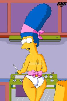 Stockings Marge simpson