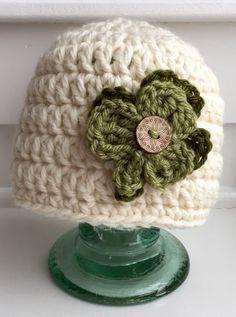 Crochet St. Patricks Day Hut / Shamrock Hut / von everythingglitzy