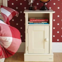 Shop the beautiful Charterhouse children's bedside - antique white (left hinges) for an elegant bedside that will compliment any young girls bedroom. Childrens Bedroom Storage, Childrens Bedroom Furniture, White Bedroom Furniture, Kids Furniture, Ladder Back Chairs, White Now, Blanket Box, Bedside Cabinet, Tooth Fairy