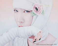 Black Nails 130X162.2cm oil on canvas 2009 - Kwon Kyung-Yup