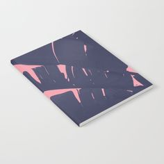 Our notebooks feature wraparound artwork from the world's best artists, with an anti-scuff laminate cover. Unleash your creativy on 52 pages of high quality 70lb text paper - minimal show-through even when you use heavy ink! Available in lined and unlined versions. #Leafs #Modern #notebook #Society6 @Society6