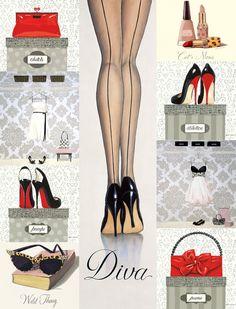 ❣Julianne McPeters❣ no pin limits Foto Fashion, Fashion Art, Fashion Beauty, Girl Fashion, Fashion Design, Illustration Mode, Glamour, Shoe Art, Fashion Sketches
