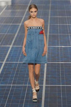 denim look from Chanel S/S 13