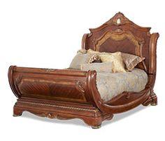 Cortina Collection®Bedroom | Michael Amini Furniture Designs | amini.com beautiful bed.