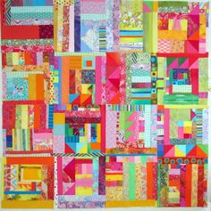 Melody Johnson quilts | ... the reverse side of another wall quilt, double sided. Yup. Good idea