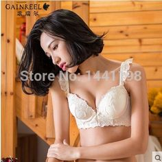 Gainreel Plus size push up bra sexy lace bra cotton intimate brassiere for women - http://www.styliate.me/products/gainreel-plus-size-push-up-bra-sexy-lace-bra-cotton-intimate-brassiere-for-women/