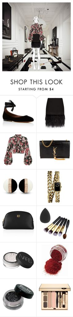 """E L E G A N T_M E S S"" by vojlovadiana ❤ liked on Polyvore featuring Tabitha Simmons, Polo Ralph Lauren, Jill Stuart, Yves Saint Laurent, Chanel and NARS Cosmetics"
