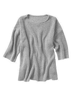 gap // marled oversize sweater