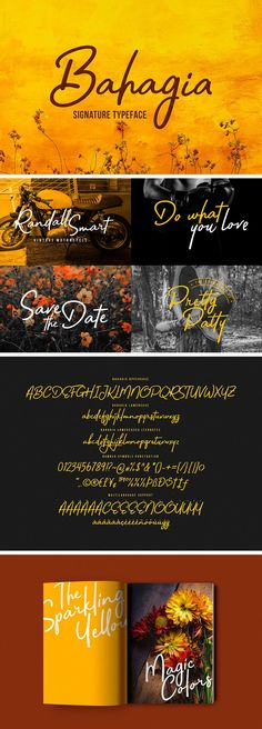 Bahagia Typeface - download freebie by PixelBuddha