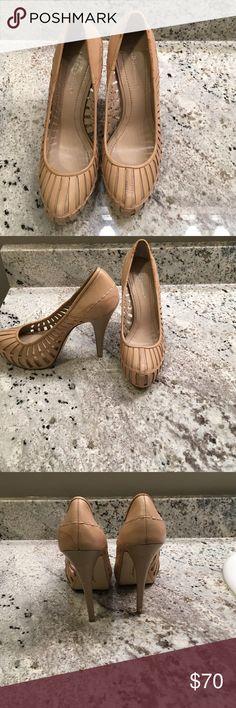 BCBGeneration heels Slightly worn. Willing to negotiate. BCBGeneration Shoes Heels