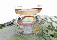 FaulknerBrowns Propose Community Velodrome Scheme in Canada