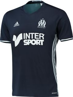 Marseille Away Kit Jersey /a France Soccer Uniforms, Soccer Shirts, Soccer Logo, Football Kits, Football Jerseys, Inter Sport, Rugby, Jersey Atletico Madrid, Moda Masculina