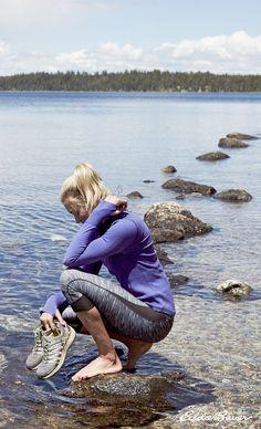 Women's Movement Capris - Blocked | Stay cool when you sweat. Legging style in a capri length. #PrepareForAdventure